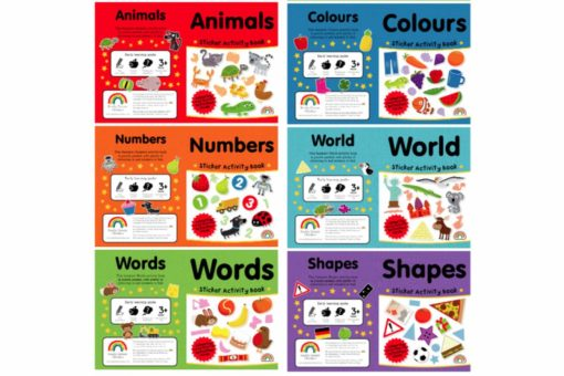 Sticker Activity Suitcase Lets Learn All Titles 3