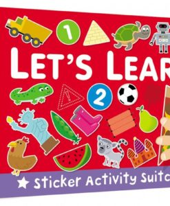 Sticker Activity Suitcase Lets Learn Cover 9781909090088