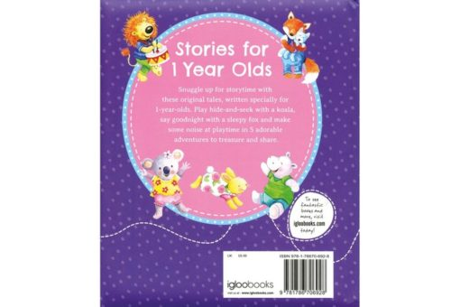 Stories for 1 Year Olds 9781786706928 Back