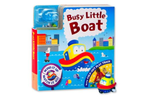 Wind it Up Watch it Go Busy Little Boat