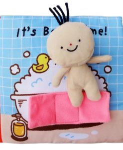 Its Bath time Cloth Book Quiet Book