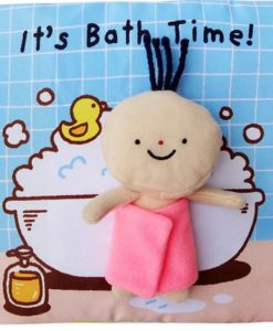 Its Bath time Cloth Book Quiet Book cover