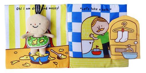 Its Bath time Cloth Book Quiet Book inside2