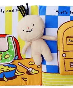Its Bath time Cloth Book Quiet Book inside3