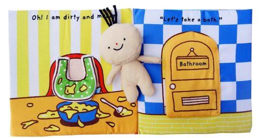 Its Bath time Cloth Book Quiet Book inside3