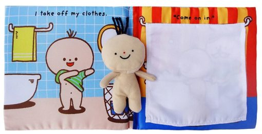 Its Bath time Cloth Book Quiet Book inside4
