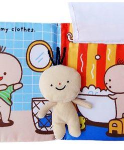 Its Bath time Cloth Book Quiet Book inside5