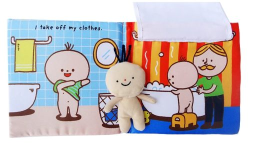 Its Bath time Cloth Book Quiet Book inside5