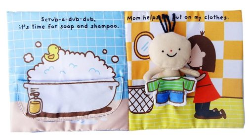 Its Bath time Cloth Book Quiet Book inside6