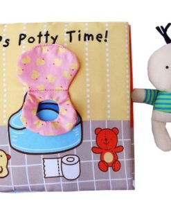 Its Potty time Cloth Book Quiet Book