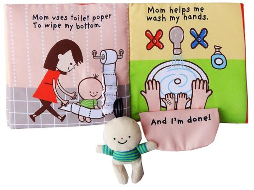 Its Potty time Cloth Book Quiet Book inside4