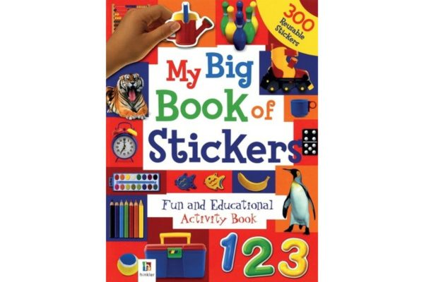 My Big Book of Stickers - 9781741849721 coverpage