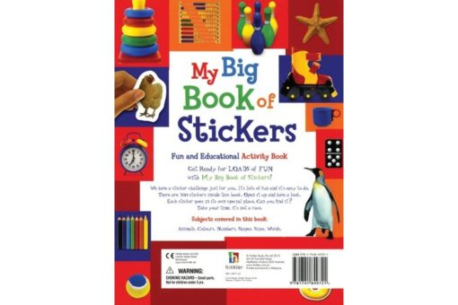 My Big Book of Stickers - 9781741849721 last page