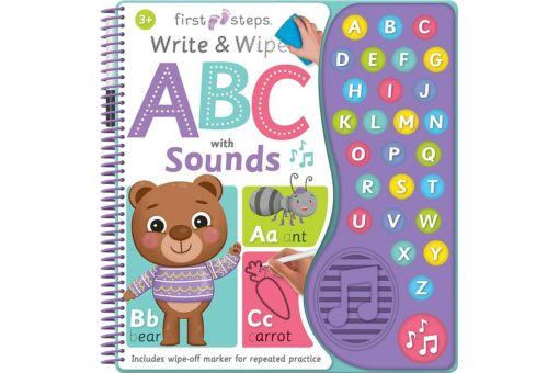 ABC with Sounds - First Steps Write & Wipe - 9781488904752_1