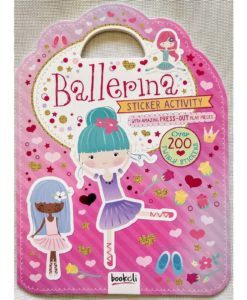 Ballerina Sticker Activity Carry Case Bookoli Cover