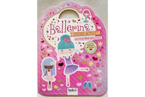 Ballerina Sticker Activity Carry Case Bookoli Cover