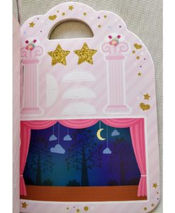 Ballerina Sticker Activity Carry Case Bookoli press and play (1)