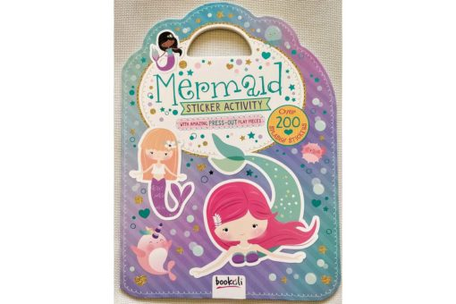 Mermaid Sticker Activity Carry Case Bookoli Cover