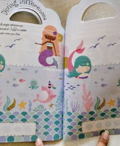 Mermaid Sticker Activity Carry Case Bookoli inside pages (1)