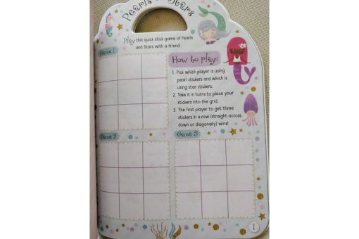 Mermaid Sticker Activity Carry Case Bookoli inside pages (2)