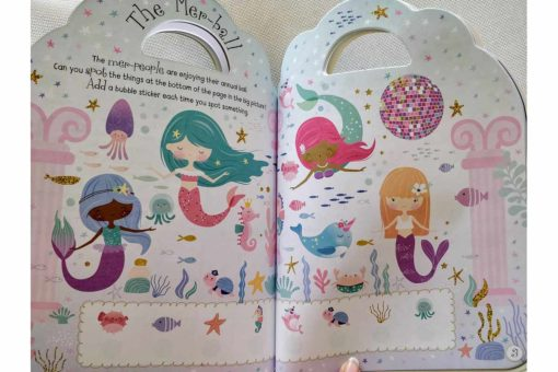 Mermaid Sticker Activity Carry Case Bookoli inside pages (3)