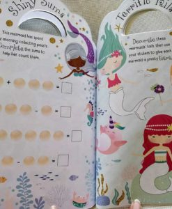 Mermaid Sticker Activity Carry Case Bookoli inside pages (4)