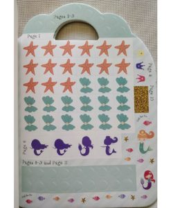 Mermaid Sticker Activity Carry Case Bookoli sticker pages (2)