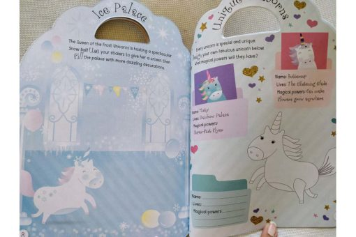 Unicorn Sticker Activity Carry Case Bookoli activity pages (1)
