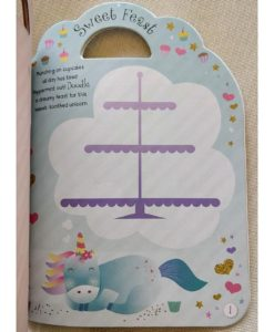 Unicorn Sticker Activity Carry Case Bookoli activity pages (2)