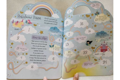 Unicorn Sticker Activity Carry Case Bookoli activity pages (3)