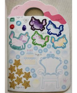 Unicorn Sticker Activity Carry Case Bookoli sticker page (1)