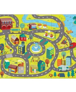 Around the Town Puzzle Play Set 36 + 8 Pieces by Mudpuppy 9780735347687 Full picture