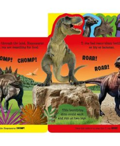 Awesome Dinosaurs Boardbook with Sound inside1