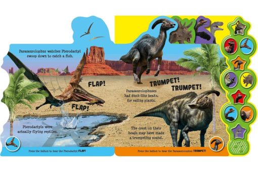 Awesome Dinosaurs Boardbook with Sound inside2
