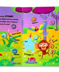 Cheeky Monkey and friends Sound Book 2