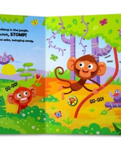 Cheeky Monkey and friends Sound Book inside
