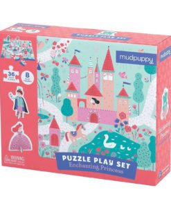 Enchanting Princess Puzzle Play Set 36 + 8 Pieces by Mudpuppy 9780735347670 Box Packing