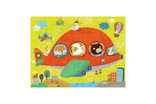 Mudpuppy Airplanes Puzzle to Go 9780735345997 full puzzle