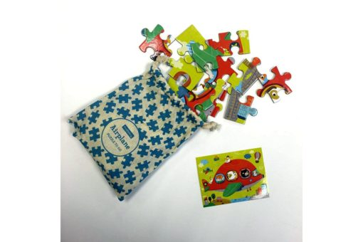 Mudpuppy Airplanes Puzzle to Go 9780735345997 puzzle in bag