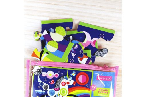 Mudpuppy Unicorns Pouch Puzzle 9780735342095 Large Pieces