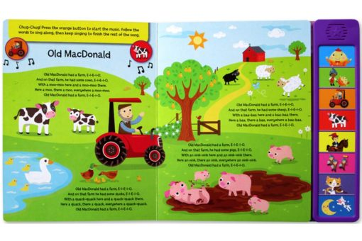 Nursery Rhymes 8 sounds book