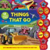 Things that go boardbook with 10 sounds 9781789053333