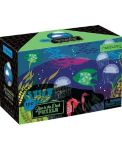 Under the Sea Glow in the Dark Puzzle 100 pieces 9780735345744 box packing