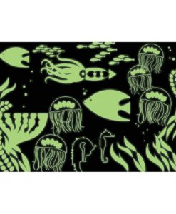 Under the Sea Glow in the Dark Puzzle 100 pieces 9780735345744 glowing