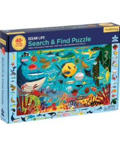 mudpuppy ocean life search find puzzle 9780735351974 main