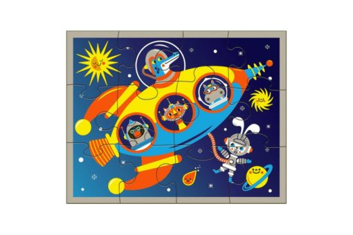 mudpuppy outer space pouch puzzle 9780735352063
