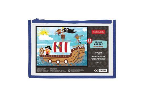 mudpuppy pirates ahoy pouch puzzle 9780735345942