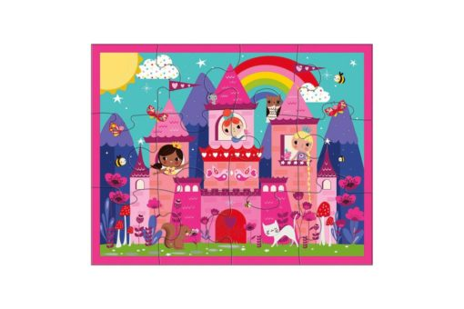 mudpuppy princess castle pouch puzzle 9780735345935-inside