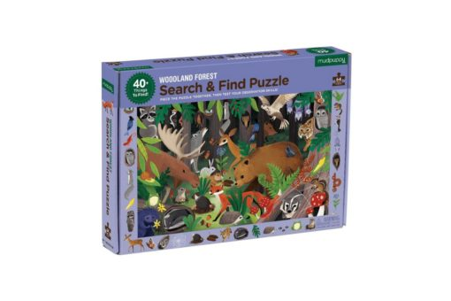 mudpuppy woodland forest search find puzzle 9780735355798 - main