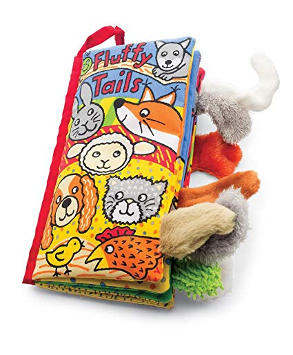 Fluffy tails cloth book